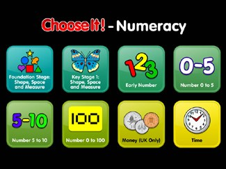 ChooseIt! Ready Mades - Numeracy Series