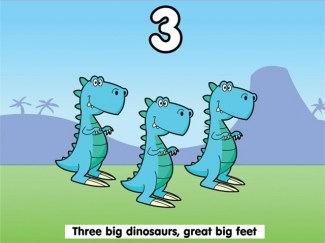 Counting Songs 2 Dinosaurs
