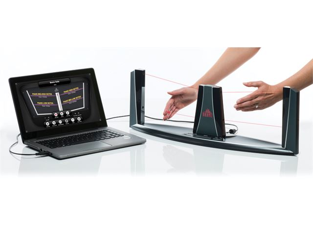 Beamz Interactive Music System With Laptop