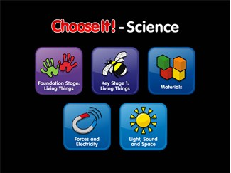 ChooseIt! Ready Mades Science Series