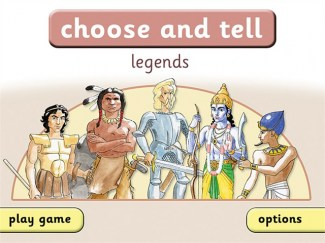 Choose and Tell Legends Start
